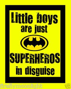 boys and superheors